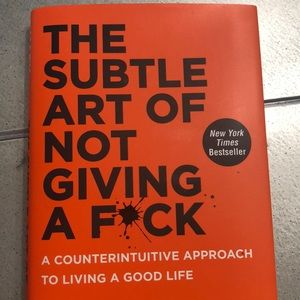 HARDCOVER BOOK Other - 🌟The Subtle Art of Not Giving A F🌟ck - HARDCOVER